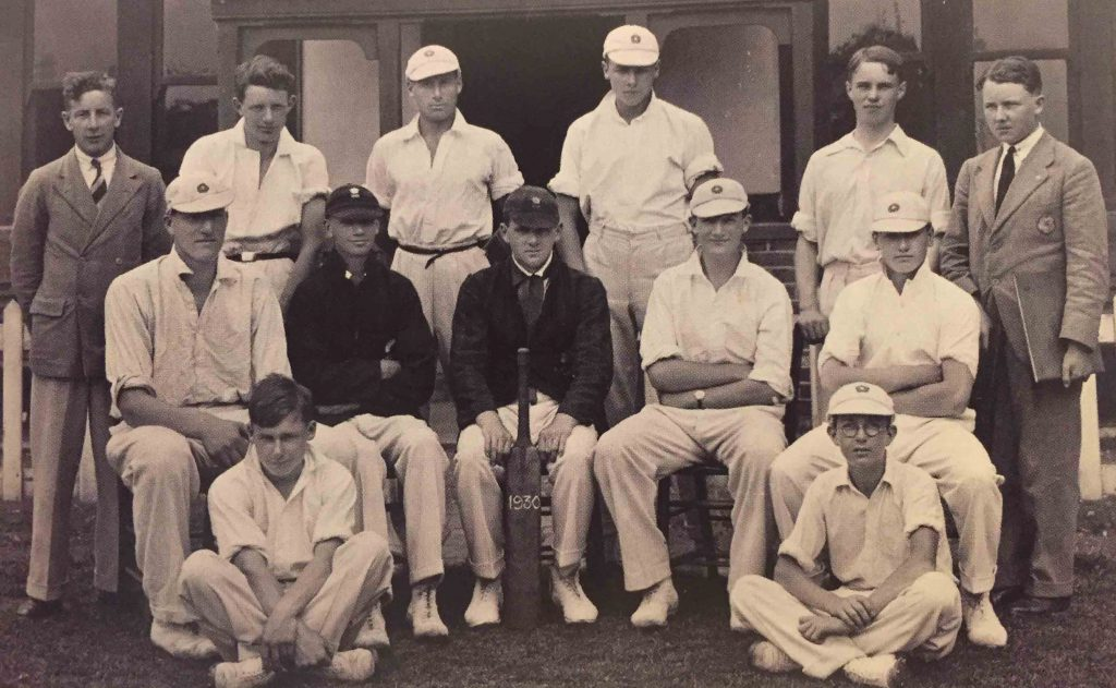 St. George's 1st XI - including seven of those who toured with the Dragons - 1930.
